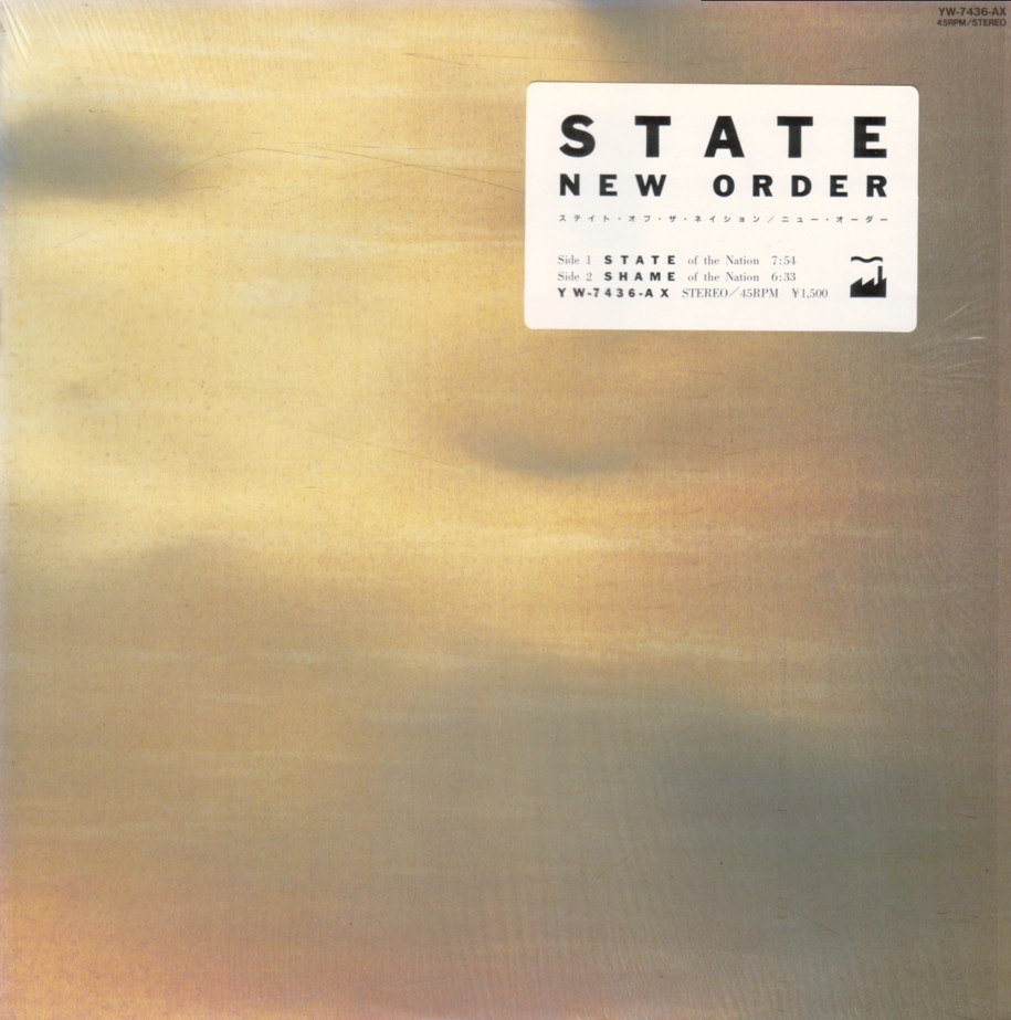 New Order Singles State Of The Nation