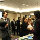 NU students and professionals meet in successful event