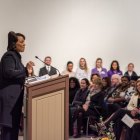 Dr. Bernice King Gives Talk at NU to Open Black History Month Celebrations