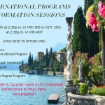 International Programs Information Sessions