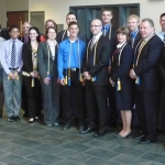 Beta Gamma Sigma Induction Ceremony 2012