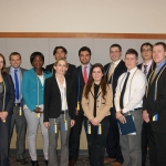 Beta Gamma Sigma Induction Ceremony 2014