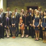 Beta Gamma Sigma Induction Ceremony 2013