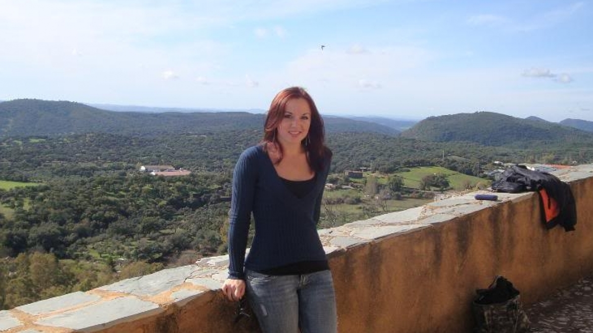 Alexandria Bungo in Arencena, Spain.