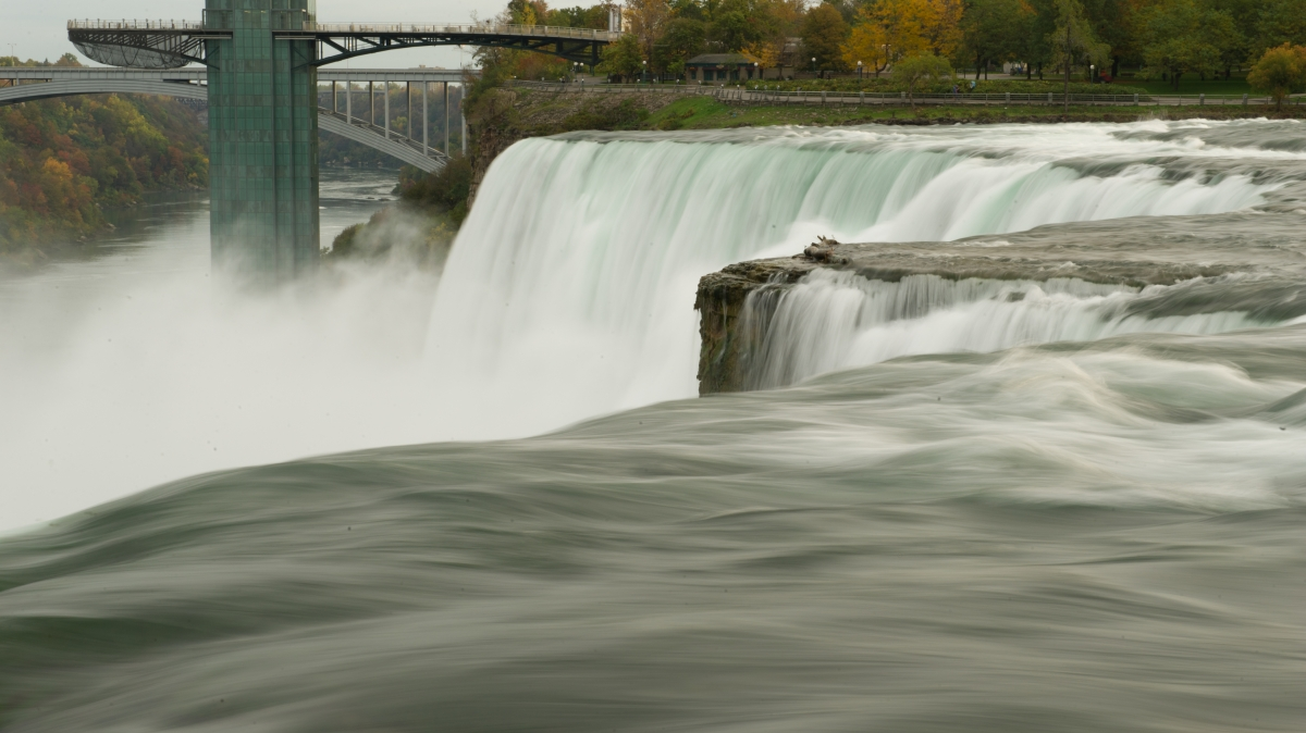 It takes just a five-minute drive from campus to experience the power and beauty of Niagara Falls.