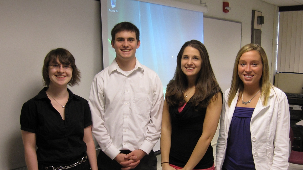 Panel of Mathematics Students at the Undergraduate Research Conference