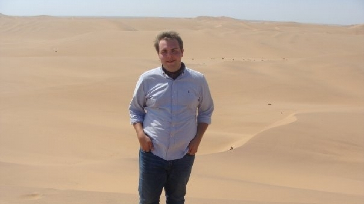 Student Visiting Namibia While Studying in South Africa