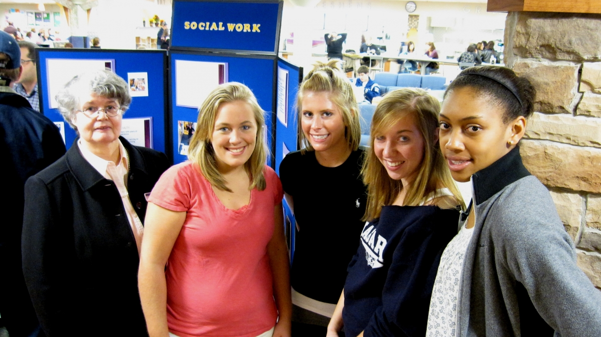 Social Work requires a two semester practicum experience in the field.