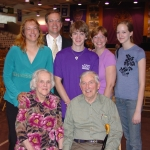 Ed with his family, taken in 2006 when he gave the convocation address to the incoming Class of 2010.