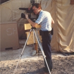 Ed during Operation Desert Shield in December 1990.