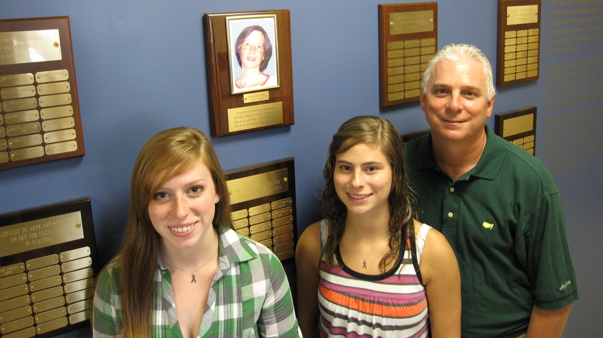 The A&S Wall of Honors was dedicated to the memory of Kathleen Marie Shields