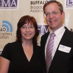 Ed and his wife, Pam, at the Buffalo Excellence in Media Awards.