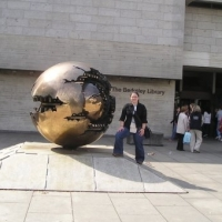 Jess Martin at Trinity College in Ireland