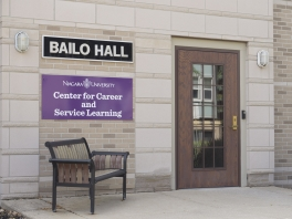 Door to Bailo Hall