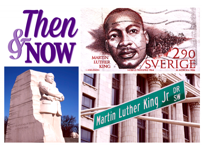 Then & Now - MLK Week at NU