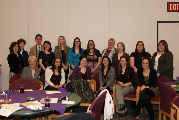 Our 2011 Sigma Tau Delta inductees