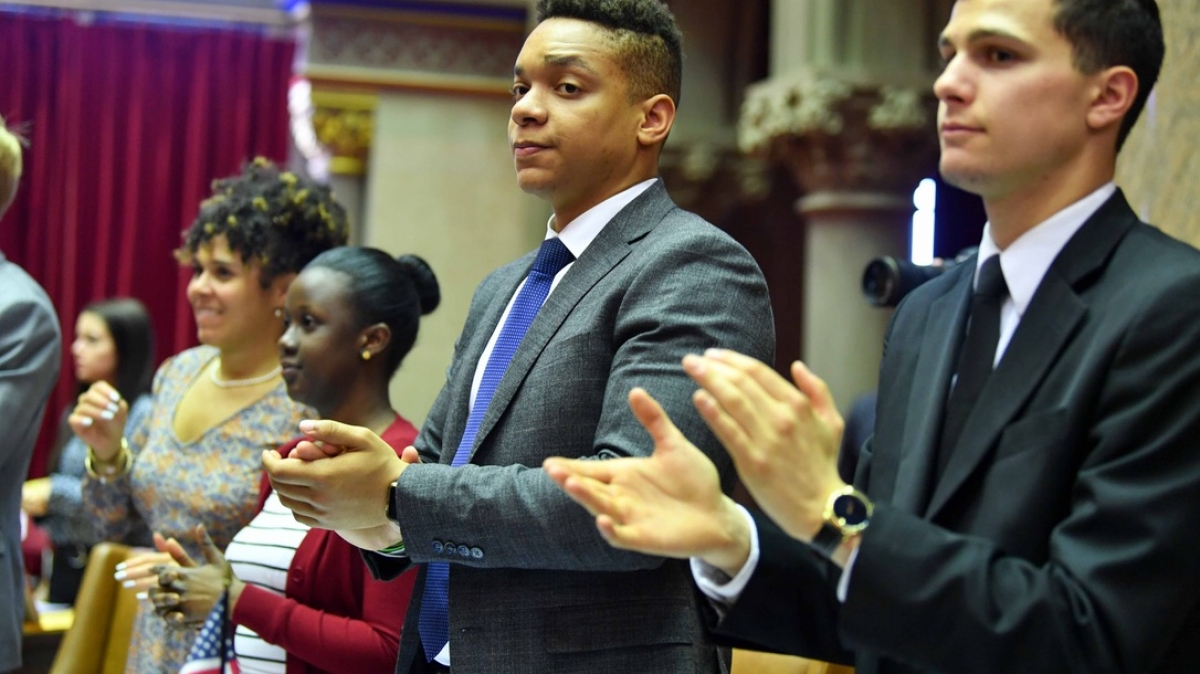 Student Success Stories: New York State Assembly