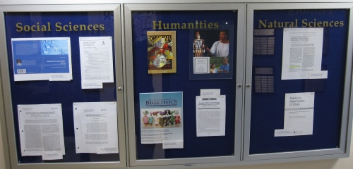 Research & Publication Display, Dunleavy 312