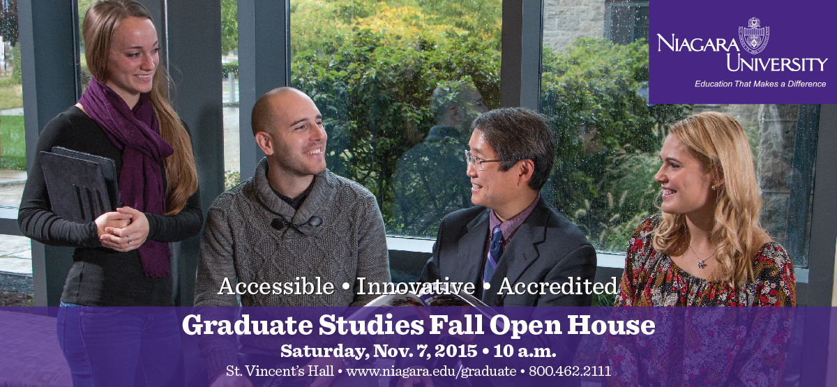 Graduate Studies Fall Open House