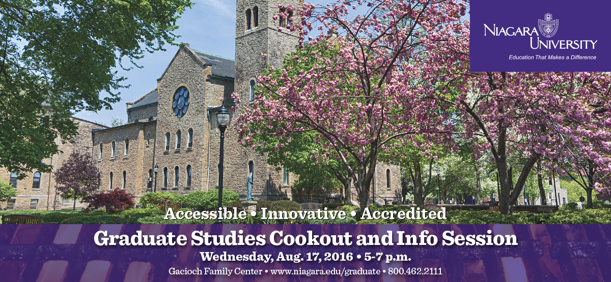 Graduate Studies Cookout and Info Session