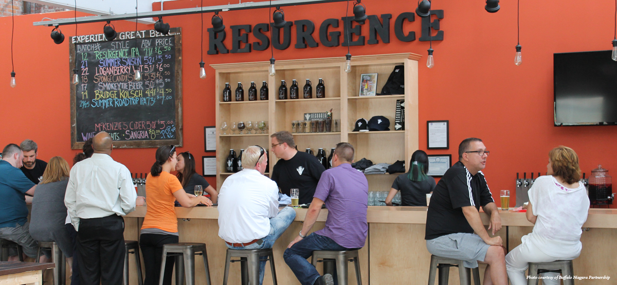 Information Session in Buffalo @ Resurgence Brewery