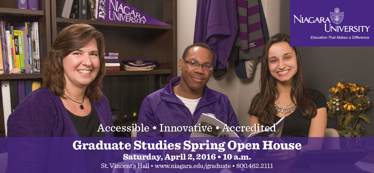 Graduate Studies Spring Open House