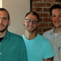 Kyle Bajor, '13, Joe Hotchkiss, '14, and Michael Lewis, M.S.Ed.'08: Restaurateurs in the Power City