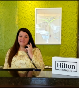 Meghan Macaulay, '06, received Hilton's CEO Light and Warmth Award, the company's top recognition.