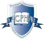 ACPHA Accredited