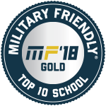 Top 10 Military Friendly School in the Nation for 2nd consecutive year