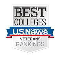 Ranked 29 College Best Value for Veterans