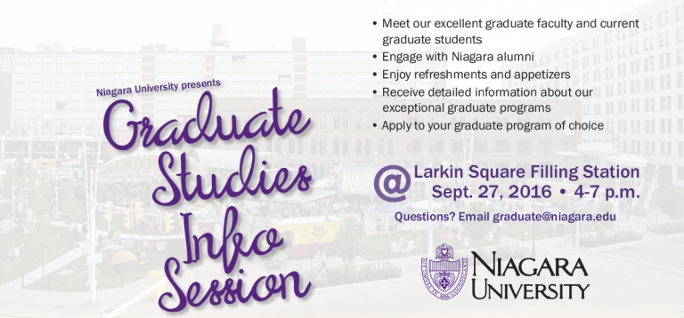 2016 Fall Graduate Studies Information Session