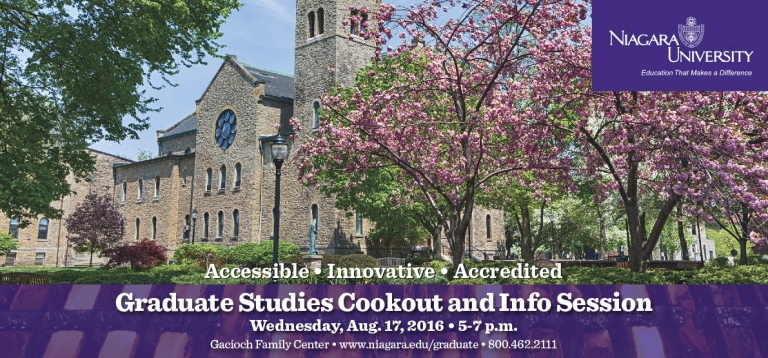 Graduate Studies Summer Cookout & Info Session
