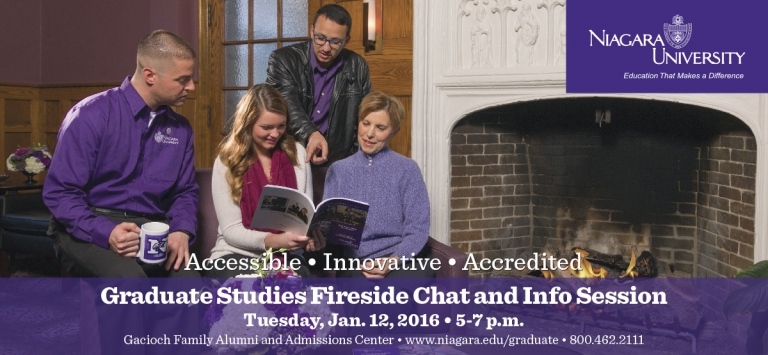 Graduate Studies Fireside Chat & Info Session