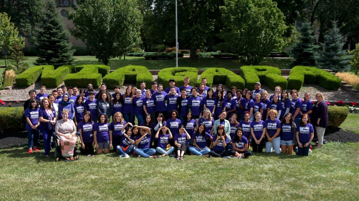 International Students at Niagara University