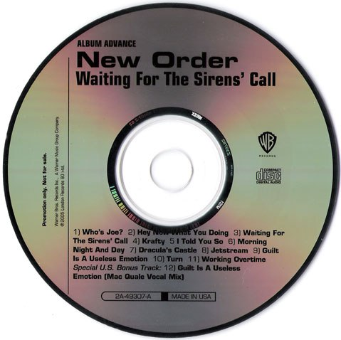 New Order Albums Waiting For The Sirens Call It seems like it's all going wrong there's a storm in the sky passing over and it looks like it's going to be str. albums waiting for the sirens call